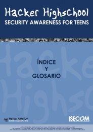 HHS - Índice y Glosario - Hacker Highschool