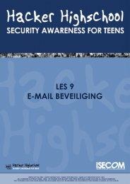 HHS - Les 9 - E-mail Beveiliging - Hacker Highschool