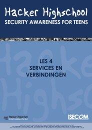 Les 04 - Services en Verbindingen - Hacker Highschool