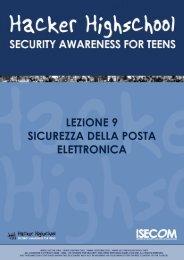 Sicurezza nell'E-mail e Privacy - Hacker Highschool