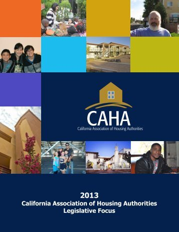 1. Legislative Focus booklet of the California Association of Housing ...