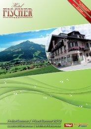 Preise Sommer / Prices Summer 2012 - Hotel Fischer