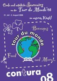 von der Tour du Monde'08 Food and More... Beveages