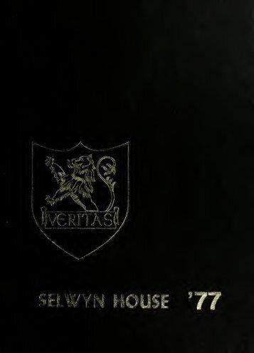 Selwyn House School Yearbook 1977