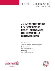 an introduction to key concepts in health economics for hemophilia ...