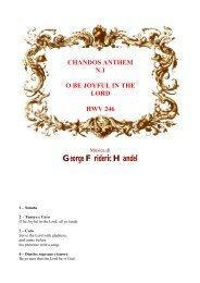 CHANDOS ANTHEM N.1 - HAENDEL.IT