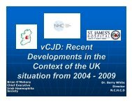 vCJD - Irish Haemophilia Society