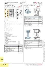 Door Steps (PDF 0.62 MB) - Hafele