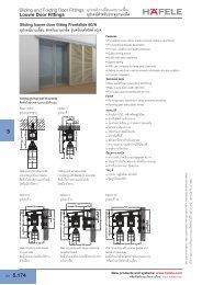 Louvre Door Fittings - Hafele