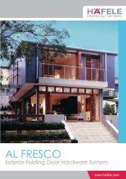Al Fresco Exterior Folding Door Hardware System (1.3MB) - Hafele