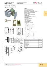 Profile Cylinder - Hafele