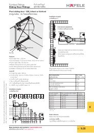 Architectural Hardware 2010 - Hafele