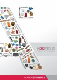Home Essentials Catalogue - Hafele