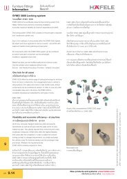 Furniture Locks (PDF 0.31 MB) - Hafele