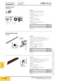 Accessories (PDF 0.22 MB) - Hafele