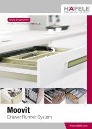 Moovit Drawer System Brochure 2010 (Malaysia Version) - Hafele