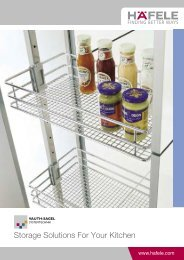 Storage Solutions For Your Kitchen (3.18MB) - Hafele