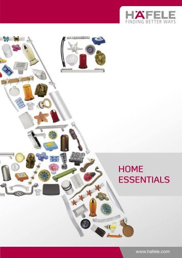 Home Essentials-Apr09-latest.indd - Hafele