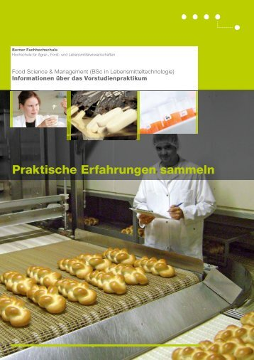 Flyer - HAFL - Berner Fachhochschule
