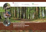 Forstwirtschaftliches Testbetriebsnetz der Schweiz: - BAFU - CH