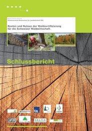 Schlussbericht Waldzertifizierung - HAFL - Berner Fachhochschule