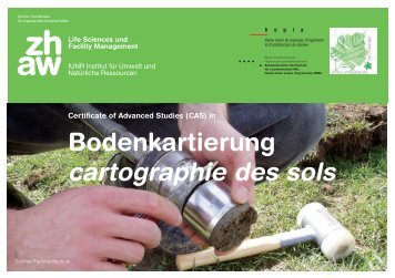 Informationen - HAFL - Berner Fachhochschule