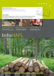 Ausgabe 13/12 (pdf) - HAFL - Berner Fachhochschule