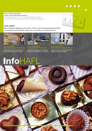 Ausgabe - HAFL - Berner Fachhochschule