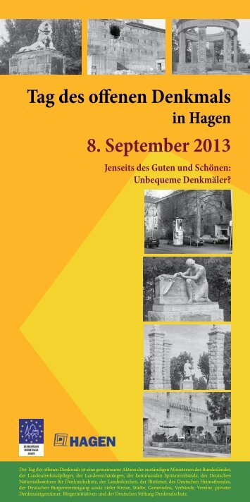 Tag des offenen Denkmals in Hagen 2013