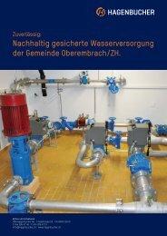 Nachhaltig gesicherte Wasserversorgung der Gemeinde ... - Tmh.ch