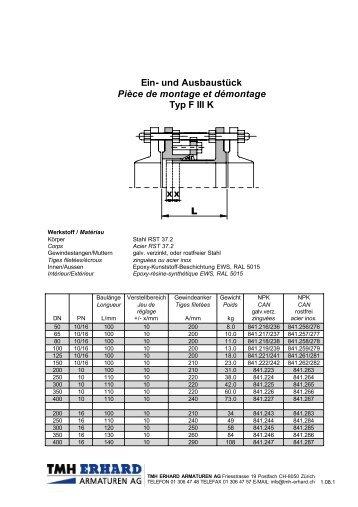 PDF Datenblatt herunterladen - TMH