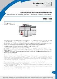 Einbauanleitung BLS®-Steckmuffen-Verbindung ... - Tmh.ch