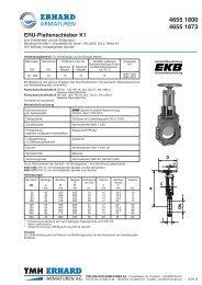 ERU-Plattenschieber K1 - Tmh.ch