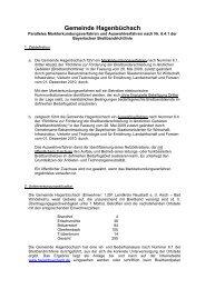 Auswahlverfahren nach Nr. 6.4 Breitbandrichtlinie - Gemeinde ...