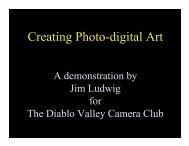 Creating Photo-digital Art