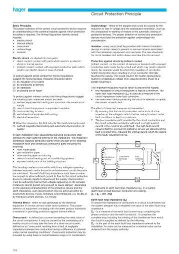Circuit Protection Principle - Hager