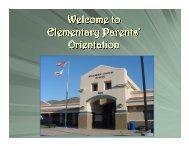 Orientation - Conejo Valley Unified School District