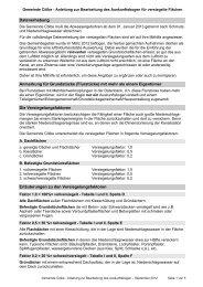Infoblatt zum Fragebogen - Gemeinde Cölbe
