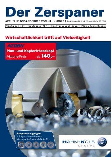 Zerspaner 03/2012 - HAHN+KOLB Werkzeuge GmbH