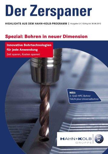 Der Zerspaner - HAHN+KOLB Werkzeuge GmbH
