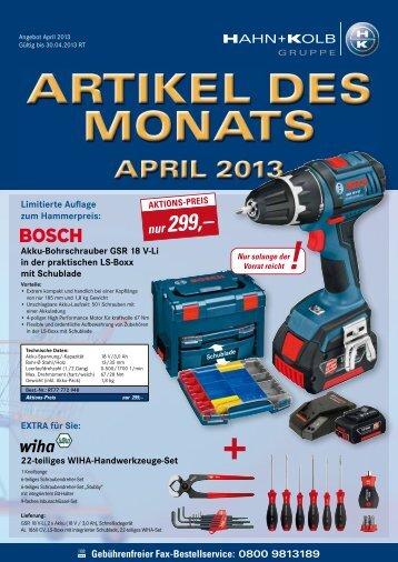 nur 299,– - HAHN+KOLB Werkzeuge GmbH