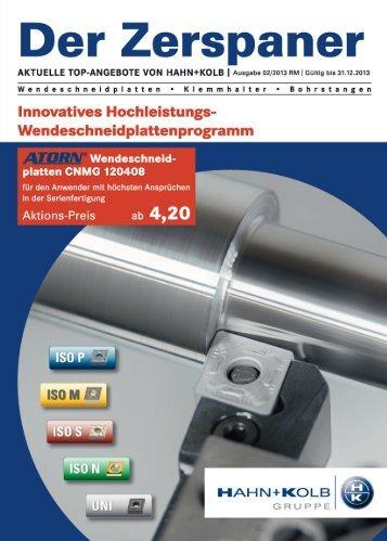 HK Zerspaner 02/2013 - HAHN+KOLB Werkzeuge GmbH