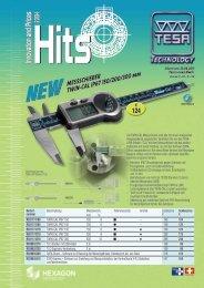 TESA Hits 2013-1 - HAHN+KOLB Werkzeuge GmbH