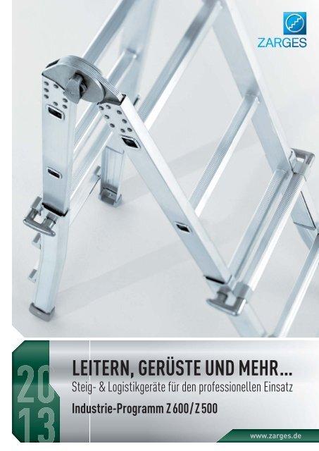 2 Stück ZARGES Dachrinnenfixierung für Leitern