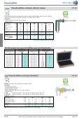 Mechanické a elektronické měřicí a zkušební přístroje - Page 6