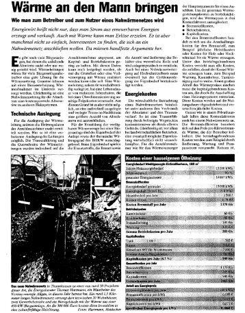 Nahwärme Landwirtschaftliches Wochenblatt v ... - Hahnenkamm