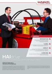 HAIdrive - Hainzl Industriesysteme