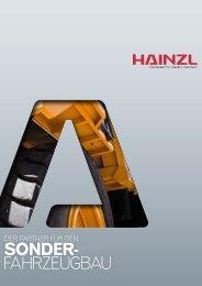 Sonderfahrzeugbau - Hainzl Industriesysteme