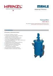 Rückspülfilter AKO R5-3 - Hainzl Industriesysteme