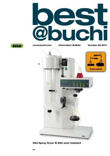 buchi mini spray dryer b 191 manual